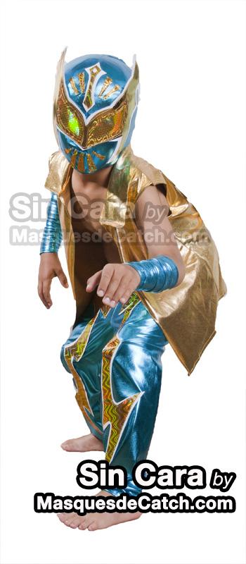 Disfraz De Sin Cara Para Ni 241 O M 225 Scaras De Lucha Libre