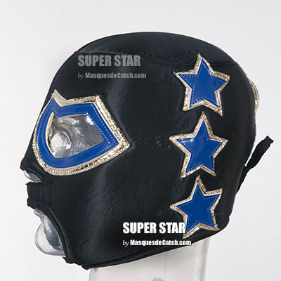 """SUPER STAR"" Lucha Libre Mascara para Adultos"