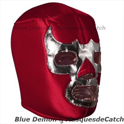 Mascara Del Luchador Blue Demon Rojo Mascara De Lucha Libre Para