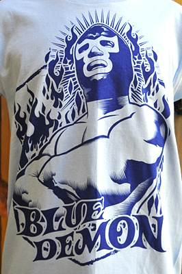 Blue Demon Camiseta  Lucha Libre
